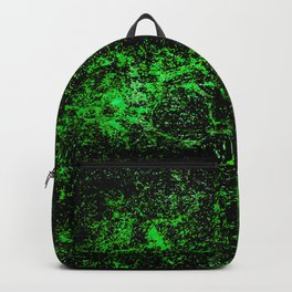 Unusual green stone texture Backpack