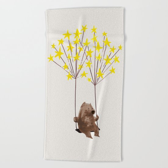 Stars Swing Beach Towel