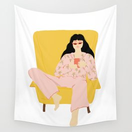 Pyjama Sunday Wall Tapestry