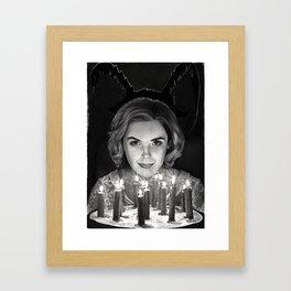 Sabrina Spellman Framed Art Print