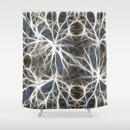 Neurons Cell Healthy Shower Curtain