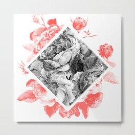 Floral Tones Metal Print