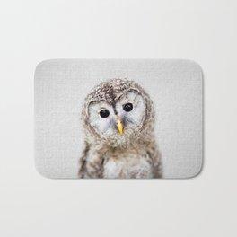 Baby Owl - Colorful Bath Mat