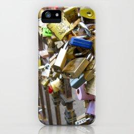 Lock it up. iPhone Case