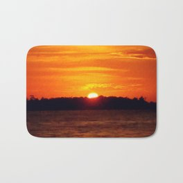 Solar Power | Landscape Nature Photo Bath Mat