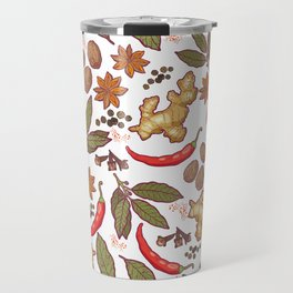 Spices pattern. Travel Mug