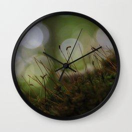 Abstract Nature I Wall Clock