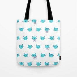 Rows of kities Tote Bag