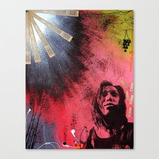 The Darkness & Beauty Canvas Print