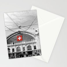 Swiss Flag Stationery Cards