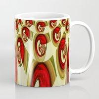shells Mugs featuring Shells by Losal Jsk