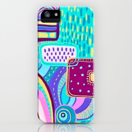 Pop Abstract iPhone Case