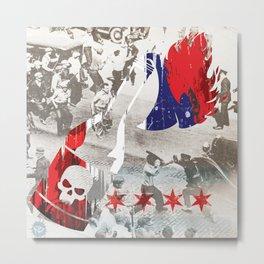 Molotov Riot Metal Print