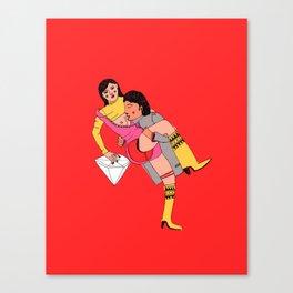 eroti print Canvas Print