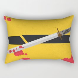 KILL BILL Tribute Rectangular Pillow