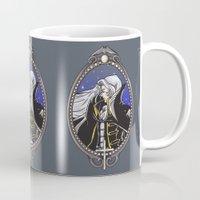 castlevania Mugs featuring Dracula's Dhampir by CaptainSunshine