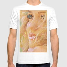 Look for your look Mens Fitted Tee White MEDIUM
