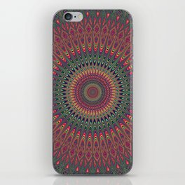 Autumn Star Mandala iPhone Skin