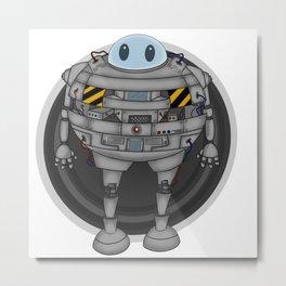 Mr. Nice Robot Metal Print