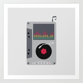Music Mix Art Print