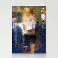 sport Stationery Cards featuring Sport by Egle Tuleikyte