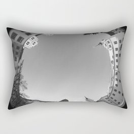 Schloss Hartenfels SW 8mm Rundblick Rectangular Pillow