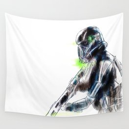 Death Trooper Wall Tapestry