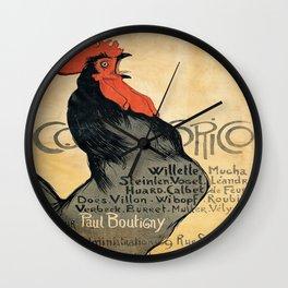 Vintage poster - Cocorico Wall Clock