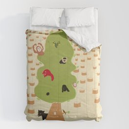 Be Good to Trees Comforters