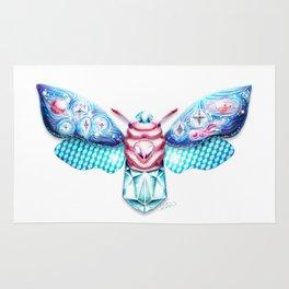 Alienhead moth Rug