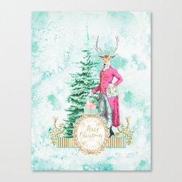 Merry Christmas my deer Canvas Print