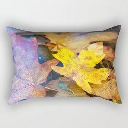 Bigleaf Maple Leaves Rectangular Pillow