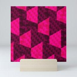 HEXAGON Mini Art Print