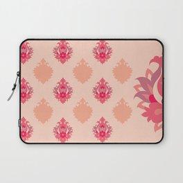 Shah-Abbasi Flower Pattern (Pink) Laptop Sleeve