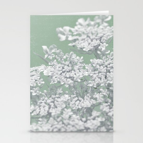 Green: Dreaming of Spring Stationery Cards