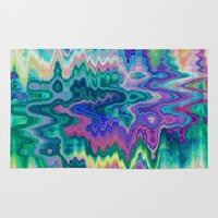 trippy Area & Throw Rugs featuring Trippy by Dorothy Pinder