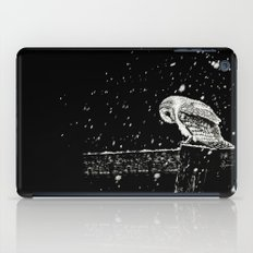 Snowfall at Night (Owl) iPad Case
