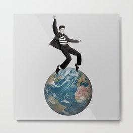Elvis's world Metal Print