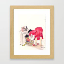 Ma Mamsell - Nr 1 Framed Art Print
