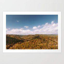 View of Red River Gorge, Kentucky Art Print