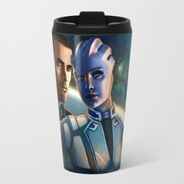 Mass Effect - Always here for you. Travel Mug