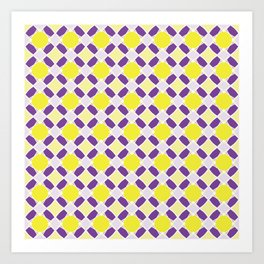 Graphic Art Pattern-P1-C2 Art Print