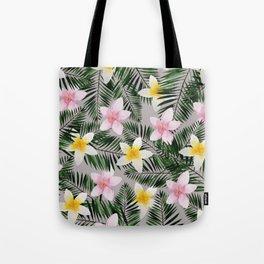 Leave Me Aloha in Grey Tote Bag