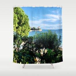 Serene Beaulieu-sur-Mer Shower Curtain