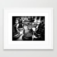 chess Framed Art Prints featuring Chess by MartaJ