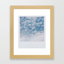 Summer Clouds II Framed Art Print