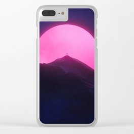 Without You (New Sun II) Clear iPhone Case