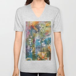 Messed Up Unisex V-Neck