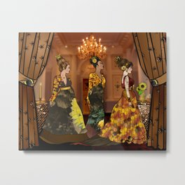 Queen Bees Metal Print