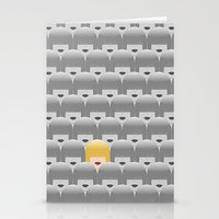 sia Stationery Cards featuring Thousand faces of Sia. by dornellaz